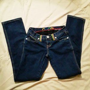 Coogi jeans. 3/4. ,Dark wash.